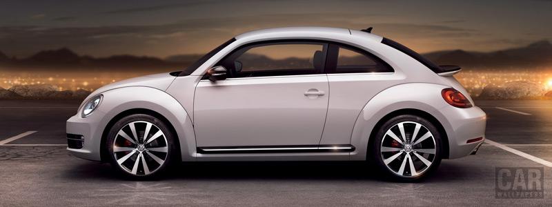 Обои автомобили Volkswagen Beetle - 2011 - Car wallpapers