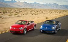 Обои автомобили Volkswagen Beetle Convertible - 2012