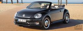 Volkswagen Beetle Cabriolet 50s Edition - 2012