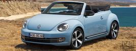 Volkswagen Beetle Cabriolet 60s Edition - 2012
