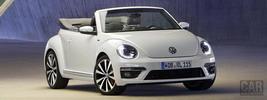 Volkswagen Beetle Cabriolet R-Line - 2012