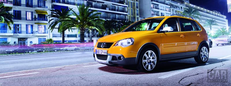 Обои автомобили - Volkswagen CrossPolo - Car wallpapers