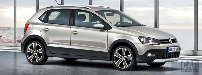 Обои автомобили Volkswagen CrossPolo - 2010 - Car wallpapers