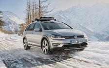 Обои автомобили Volkswagen Golf Alltrack - 2017