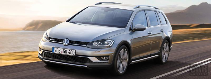 Обои автомобили Volkswagen Golf Alltrack - 2017 - Car wallpapers
