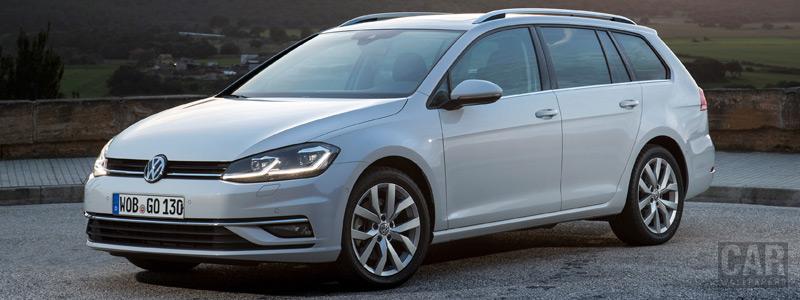 Обои автомобили Volkswagen Golf TSI Variant - 2017 - Car wallpapers