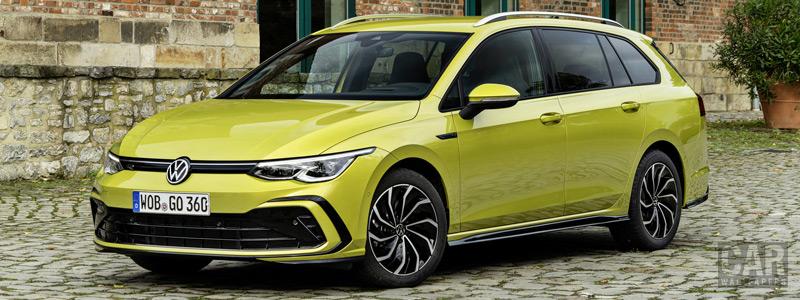Обои автомобили Volkswagen Golf 2.0 TDI R-Line Variant - 2020 - Car wallpapers