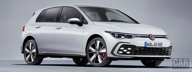 Обои автомобили Volkswagen Golf GTE - 2020 - Car wallpapers