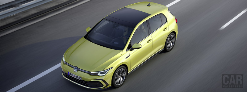 Обои автомобили Volkswagen Golf R-Line - 2020 - Car wallpapers