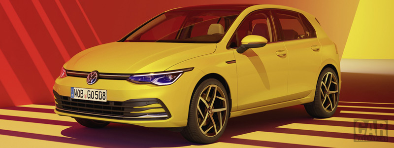 Обои автомобили Volkswagen Golf Style - 2020 - Car wallpapers