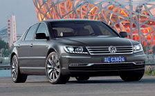 Обои автомобили Volkswagen Phaeton W12 long wheelbase - 2010