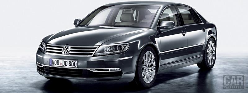 Обои автомобили Volkswagen Phaeton - 2010 - Car wallpapers