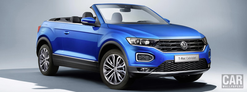 Обои автомобили Volkswagen T-Roc Cabriolet - 2020 - Car wallpapers