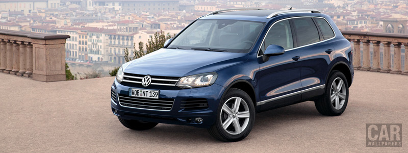 Обои автомобили Volkswagen Touareg V6 TDI BlueMotion - 2010 - Car wallpapers