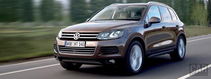 Обои автомобили Volkswagen Touareg V8 TDI - 2010 - Car wallpapers