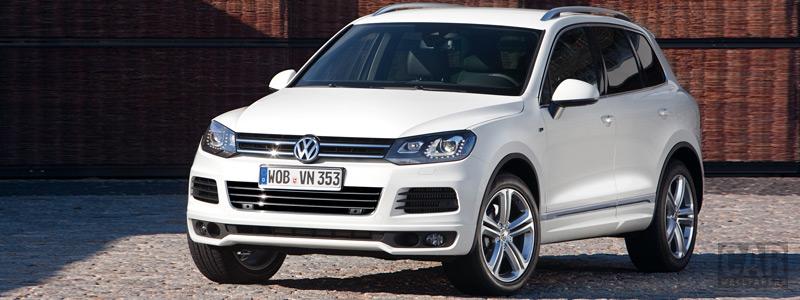 Обои автомобили Volkswagen Touareg R-Line - 2011 - Car wallpapers