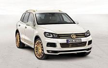 Обои автомобили Volkswagen study Touareg Gold Edition - 2011