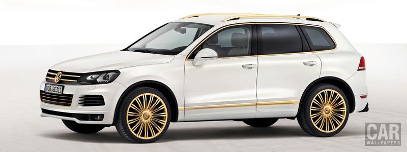 Обои автомобили Volkswagen study Touareg Gold Edition - 2011 - Car wallpapers