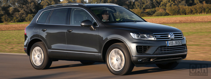Обои автомобили Volkswagen Touareg Hybrid - 2014 - Car wallpapers