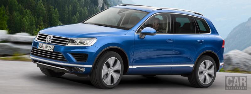 Обои автомобили Volkswagen Touareg V6 TDI - 2014 - Car wallpapers