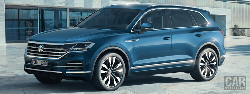 Обои автомобили Volkswagen Touareg V6 TDI Elegance - 2018 - Car wallpapers